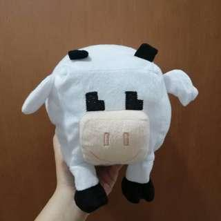 Minecraft Inspired Cow Soft Toy