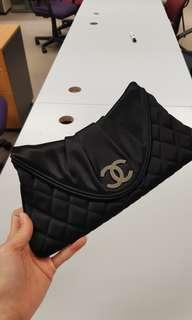 Chanel satin clutch in excellent condition!