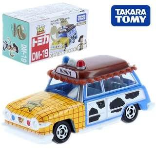 BN Brand New Takara TOMY Tomica Disney Motors Dm-19 Lagoon Wagon Woody
