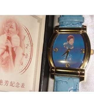 [勿壓價]-全新-梅艷芳一週年紀念錶-運行正常.絕版收藏多年,盒稍舊-[勿壓價]