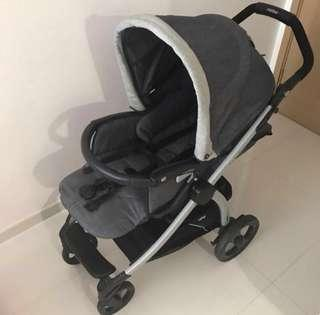 Peg Perego Book Plus Stroller with all accessories