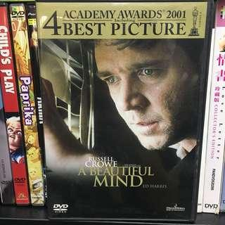 A beautiful mind 有你終身美麗 DVD 無花