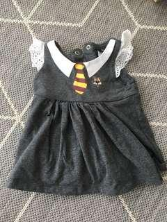 Baby dress Harry Potter and bag of clothes