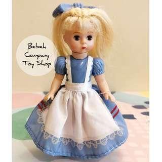 2010 McDonalds Alexander 愛麗絲夢遊仙境 亞歷山大娃娃 古董玩具 美國二手玩具 眨眼娃娃 麥當勞