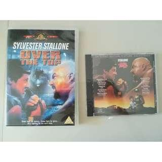 Over the Top (Sylvester Stallone) DVD + Soundtrack/OST