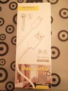 #50TXT Data cable fast charging RM15