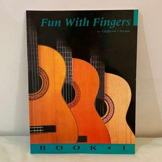 Guitar Learning Book - Fun with Fingers Book One