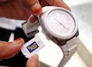 Touch & Go Watch (White) RM50 Credit