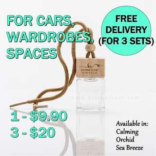 🚚 AROMA DIFFUSER / AIR FRESHENER / CAR HANGING DIFFUSER / CAR FRAGRANCE / CAR FRESHENER / AROMATHERAPY / CAR ACCESSORIES / FREE DELIVERY