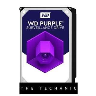 """🚚 WESTERN DIGITAL WD PURPLE 3.5"""" SURVEILLANCE HDD 1TB"""