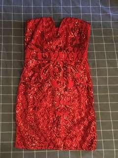 Pretty little thing sparkly dress