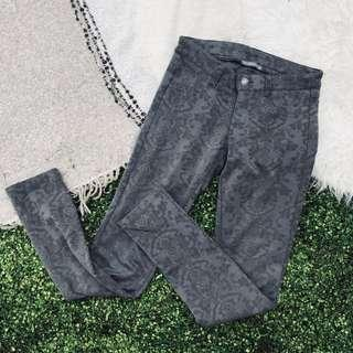 TERRANOVA Vintage Pattern Jegging / Pants