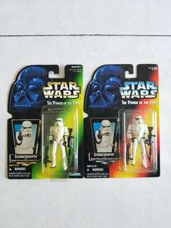 Star Wars STORMTROOPER (red and green card)