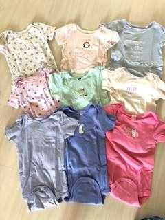 Bundle of Carters Rompers for 24 month