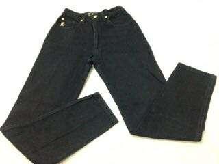 Celana panjang hitam jeans roccobarocco like New
