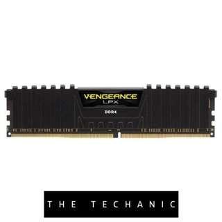 🚚 CORSAIR VENGEANCE LPX 32GB (4 X 8GB) DDR4 2400MHZ C14 BLACK UDIMM