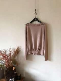 專櫃棉針織上衣