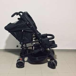Merricart double stroller