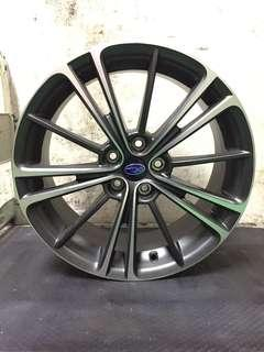 17 inch,5-100 Subaru Original Rims On Offer Sale