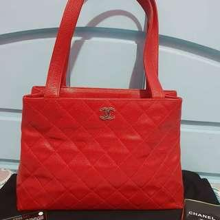 Chanel Red Caviar