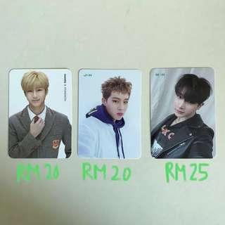WTS MONSTA X PHOTOCARD