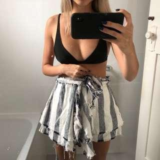 SIR THE LABEL CLEMENCE LAYERED MINI SKIRT