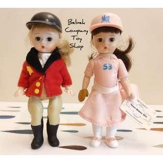 ⚾️🐎2005年 McDonalds Alexander棒球 馬術 亞歷山大娃娃 古董玩具 美國二手玩具 眨眼娃娃 麥當勞