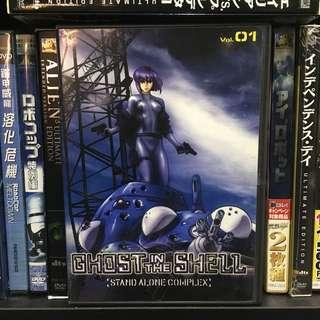 Ghost in the shell 攻殻機防隊 stand alone complex 2DVD 特別版