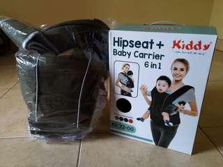 Hipseat + baby carrier 6+1