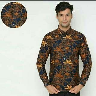 Batik Pria- Batik Slumfit