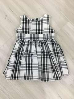 cc5011e03ea Burberry inspired baby girl dress