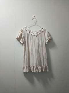 Kate & Bella Beige Short Dress (Long Top) #50TXT