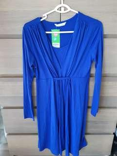BNWT Spring Maternity Nursing Dress S