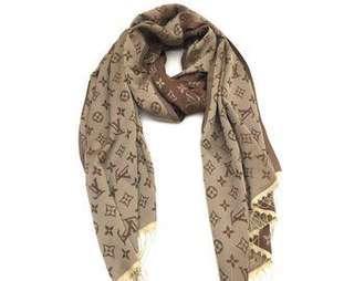 "Louis Vuitton Scarf 64""x64"""