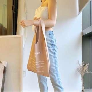 HOBO SOFTPINK FAUX LEATHER BAG
