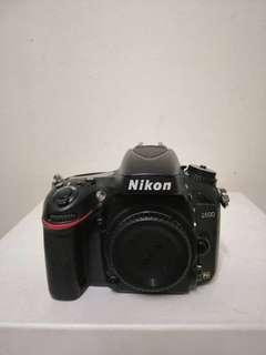 Nikon D600 Body Only SC 9K