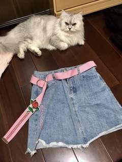 🚚 Jeans玫瑰牛仔裙🌹#半價衣服市集