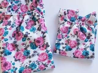 170 only! Good as New Mother and Daughter Outfit