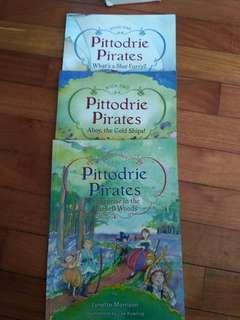 🚚 Pittodrie Pirates book 1,2&3