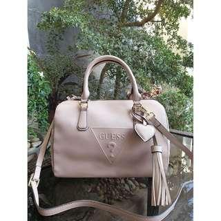 Guess Plain Doctor's Bag - Nude Pink