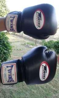 Twin special leather boxing glove