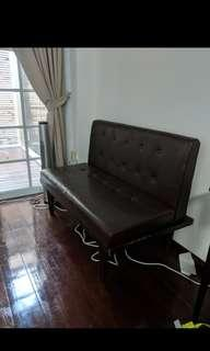 Leather Sofa- Two seater