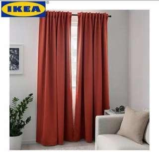Ikea Majgull blackout curtain