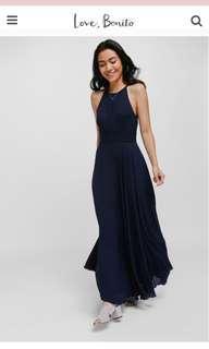 Love Bonito lylas dress - Navy