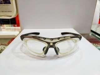 🚚 Sworke Primus grey with clear shade/ cr39mc emi