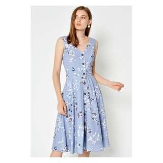 BNWT KIERRA FLORAL SWING DRESS LILAC