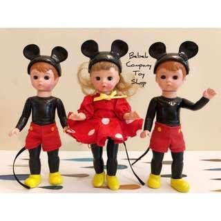 2004 McDonalds Alexander 迪士尼 米奇 米妮 亞歷山大娃娃 古董玩具 美國二手玩具 眨眼娃娃 麥當勞