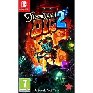 🚚 SteamWorld Dig 2 - Nintendo Switch game