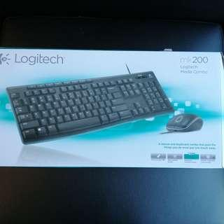 Keyboard & mouse- Almost new