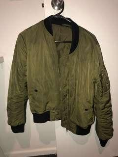 Top shop Women's Army Bomber Jacket